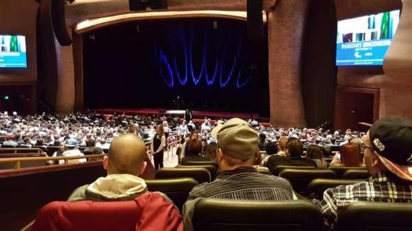 The Grand Theater at Foxwoods, secção: Parterre, fila: JJ, lugar: 2
