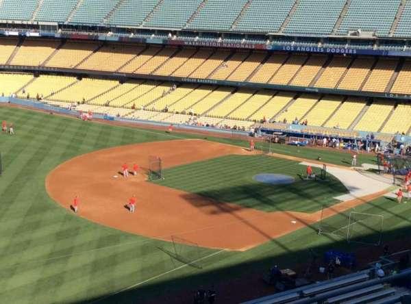 Dodger Stadium, secção: 39RS, fila: R, lugar: 4