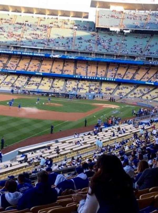 Dodger Stadium, secção: 161LG, fila: M, lugar: 7