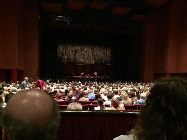 San Diego Civic Theatre, secção: Dress Circle L1, fila: B, lugar: 25