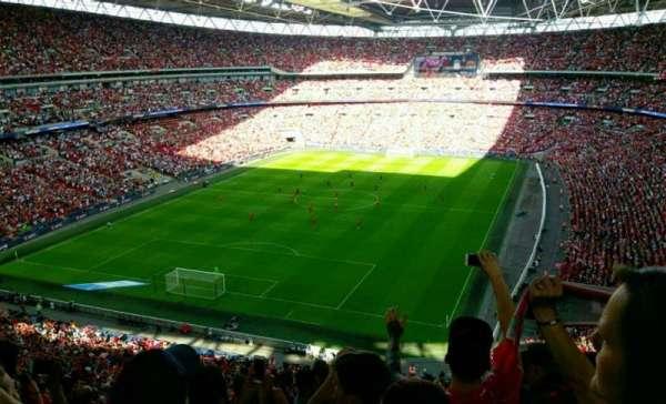 Wembley Stadium, secção: 536, fila: 15, lugar: 298