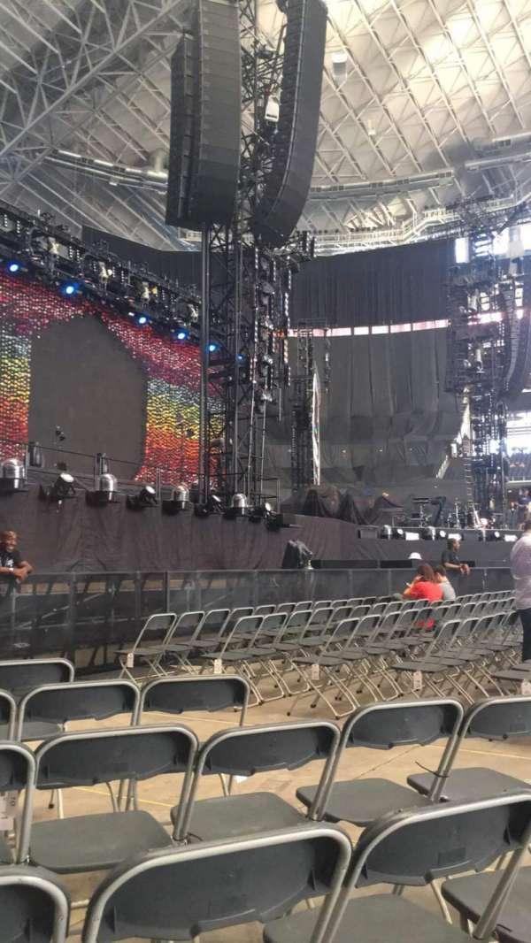 AT&T Stadium, secção: E, fila: 8, lugar: 9