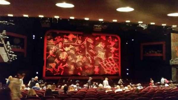 Minskoff Theatre, secção: Orchestra C, fila: YY, lugar: 104