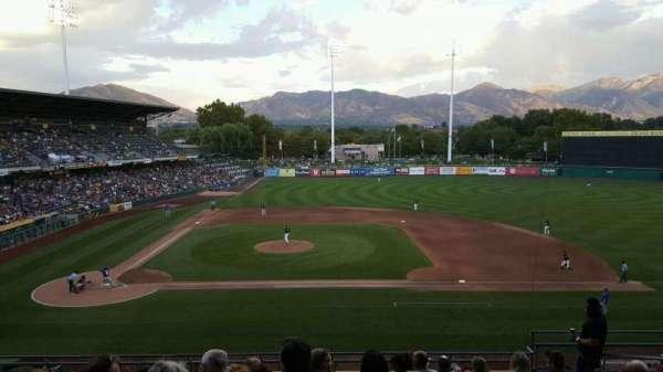 Smith's Ballpark, secção: 106, fila: 10, lugar: 9