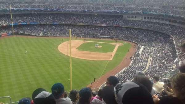 Yankee Stadium, secção: 432B, fila: 9, lugar: 16