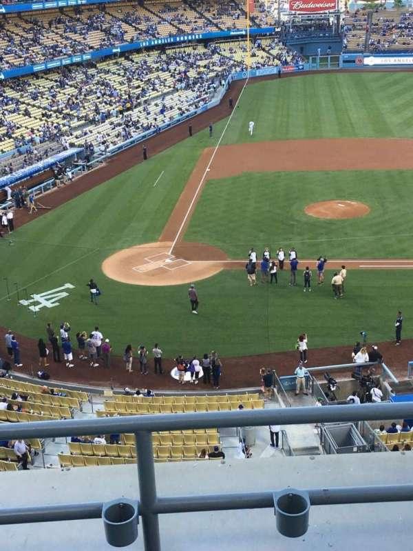 Dodger Stadium, secção: 10RS, fila: C, lugar: 6