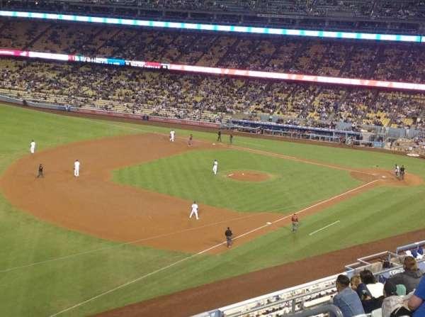 Dodger Stadium, secção: 39RS, fila: K, lugar: 8