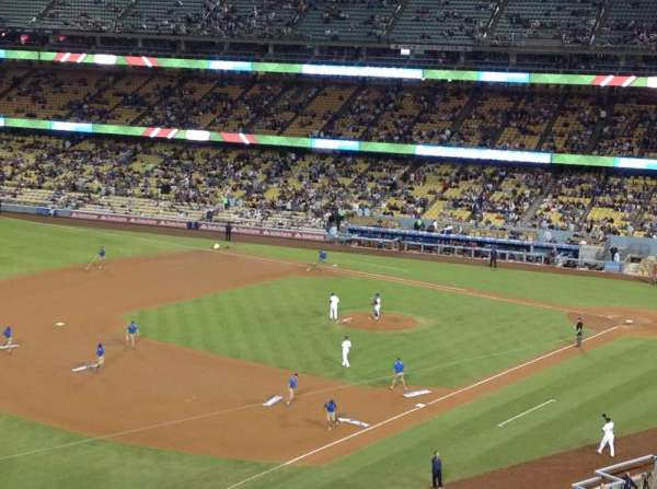 Dodger Stadium, secção: 35RS, fila: C , lugar: 22