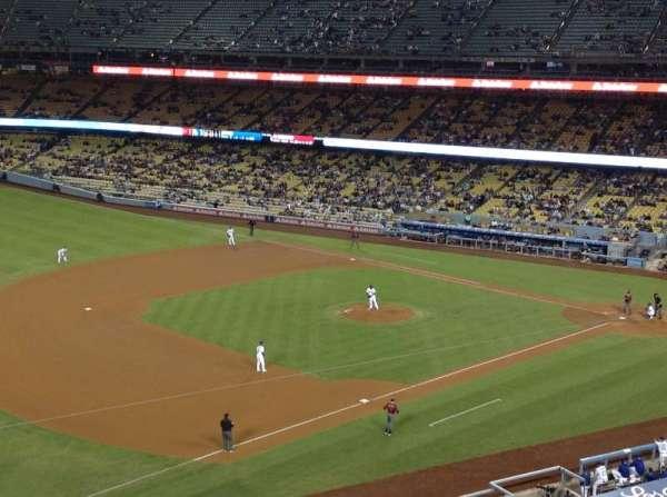 Dodger Stadium, secção: 31RS, fila: B, lugar: 13
