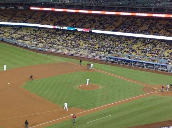 Dodger Stadium, secção: 27RS, fila: L, lugar: 21