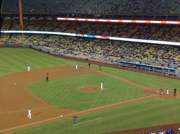 Dodger Stadium, secção: 23RS, fila: D, lugar: 22