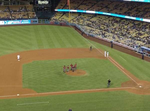 Dodger Stadium, secção: 15RS, fila: J, lugar: 15