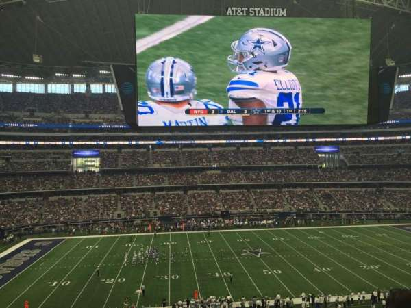 AT&T Stadium, secção: C312, fila: E, lugar: 7