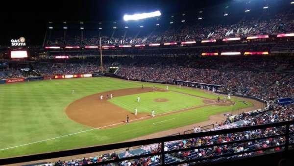 Turner Field, secção: 316, fila: 2, lugar: 109