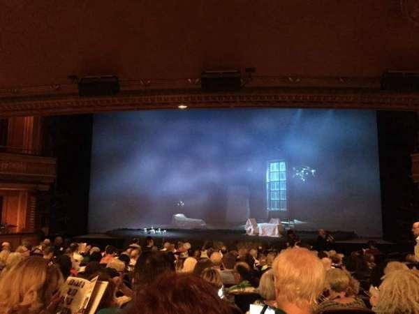 American Airlines Theatre, secção: Orchestra C, fila: O, lugar: 106