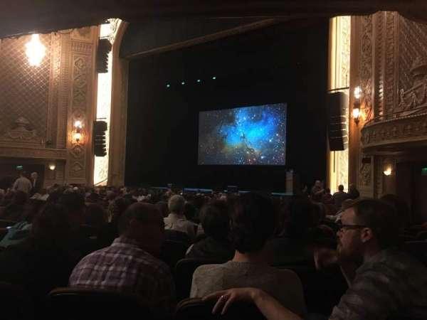 Paramount Theatre (Seattle), secção: MF1, fila: W, lugar: 11