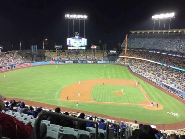 Dodger Stadium, secção: 11 Res, fila: U, lugar: 24