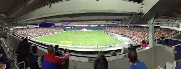 RFK Stadium, secção: M22, fila: 3, lugar: 4