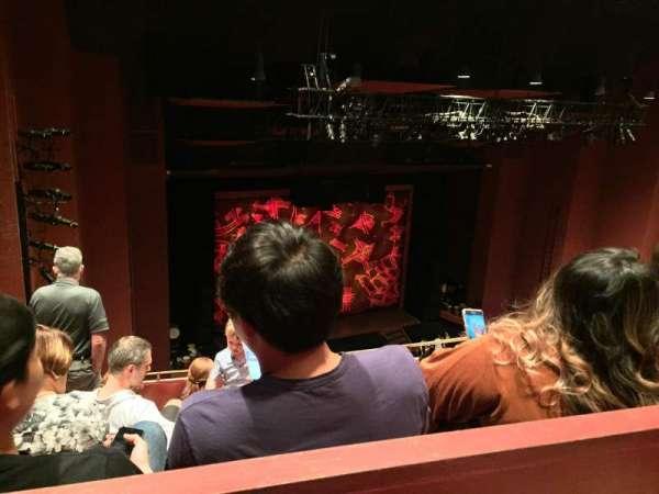 San Diego Civic Theatre, secção: Balcony L, fila: O, lugar: 45