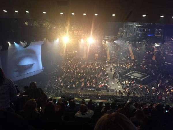 Madison Square Garden, secção: 224, fila: 15, lugar: 6