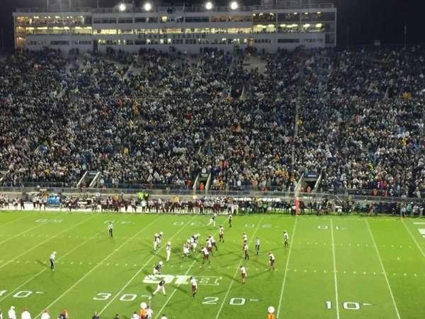 Beaver Stadium, secção: EGU, fila: 46, lugar: 17