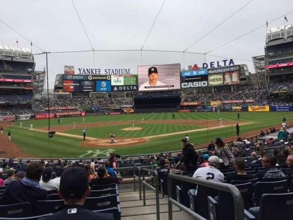 Yankee Stadium, secção: 120A, fila: 11, lugar: /
