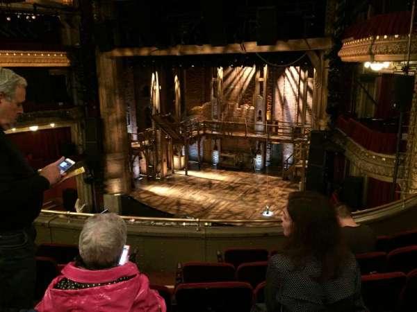 CIBC Theatre, secção: Mezzanine R, fila: F, lugar: 10