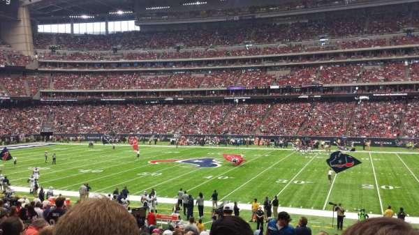 NRG Stadium, secção: 124, fila: Y, lugar: 23