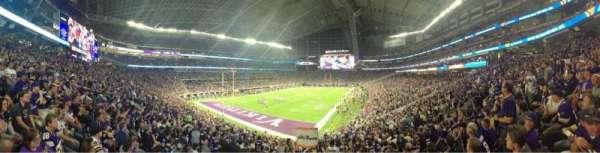 U.S. Bank Stadium, secção: 116, fila: 27, lugar: 19