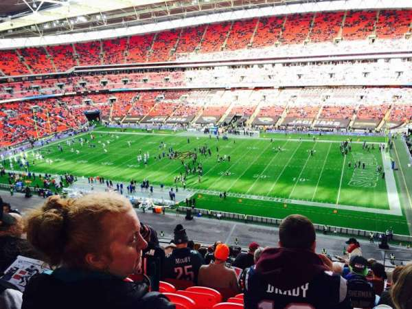 Wembley Stadium, secção: 524, fila: 12
