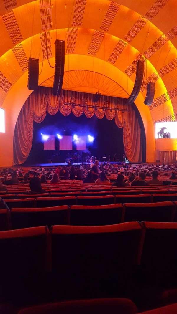 Radio City Music Hall, secção: Orchestra 6, fila: N, lugar: 612