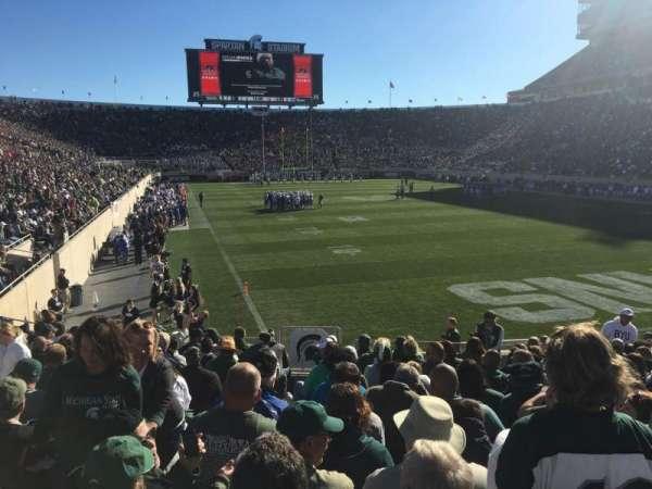 Spartan Stadium, secção: 3, fila: 17, lugar: 33