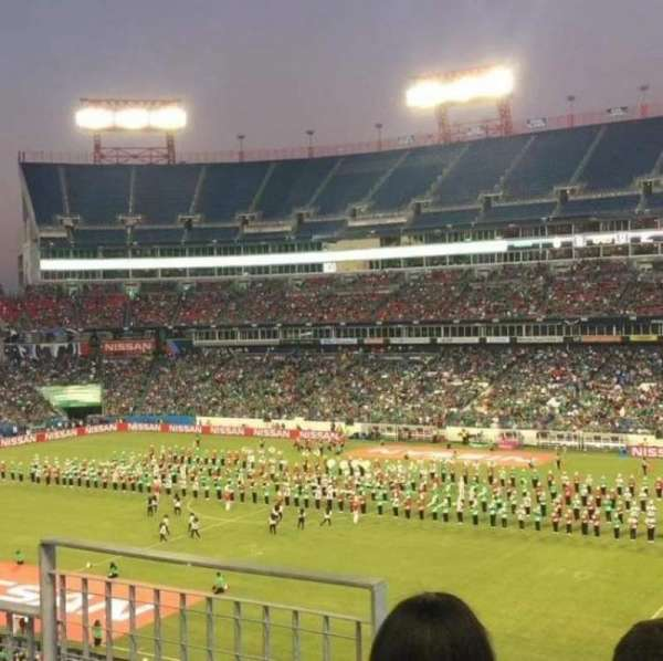 Nissan Stadium, secção: 231, fila: C, lugar: 10