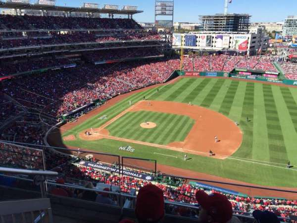 Nationals Park, secção: 420, fila: C