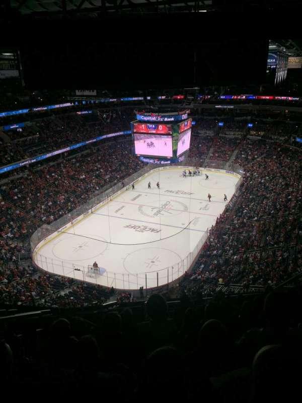 Capital One Arena, secção: 428, fila: P