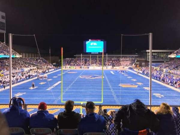 Albertsons Stadium, secção: 133, fila: B, lugar: 13