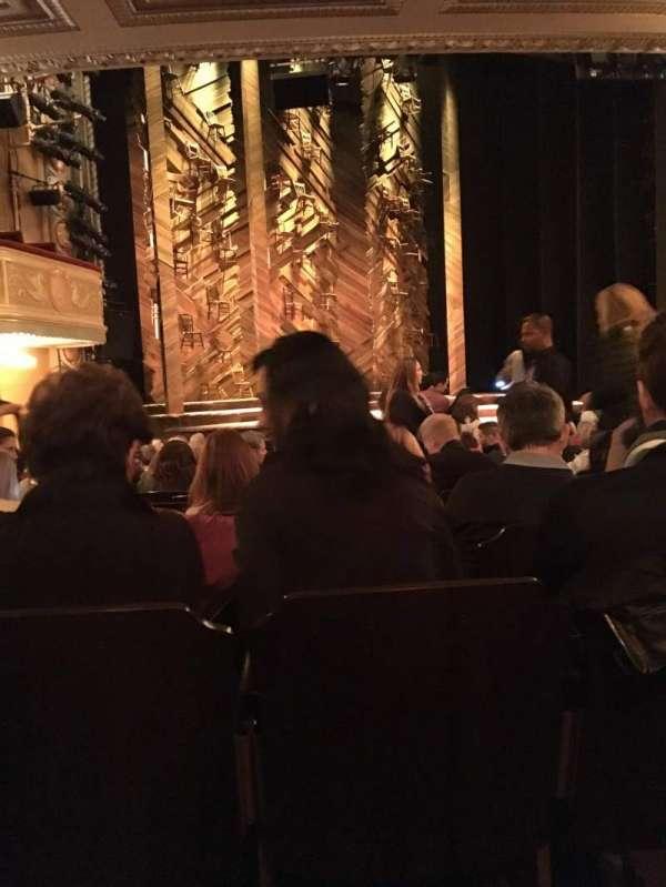 Bernard B. Jacobs Theatre, secção: Orchestra L, fila: O, lugar: 13