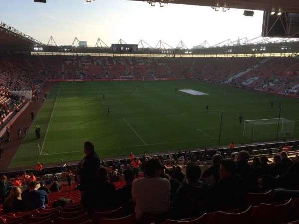 St Mary's Stadium, secção: 45, fila: KK, lugar: 1176