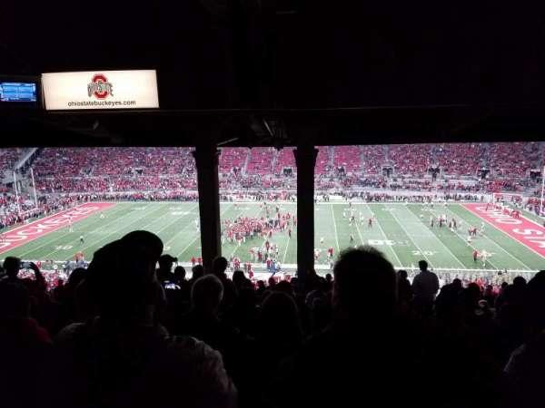 Ohio Stadium, secção: 18B, fila: 14, lugar: 25