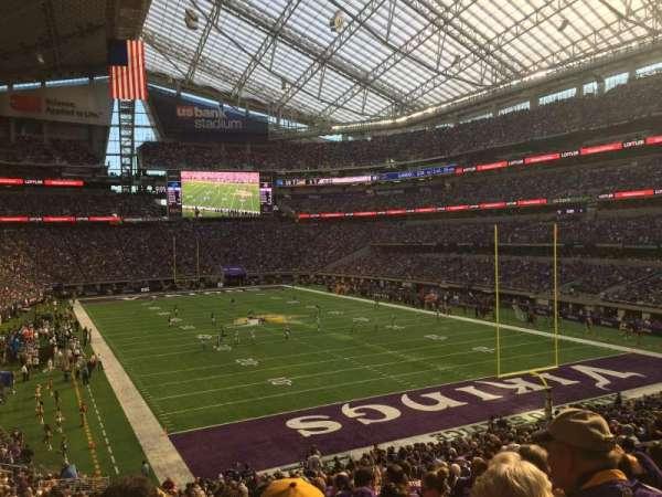 U.S. Bank Stadium, secção: 101, fila: 31, lugar: 12