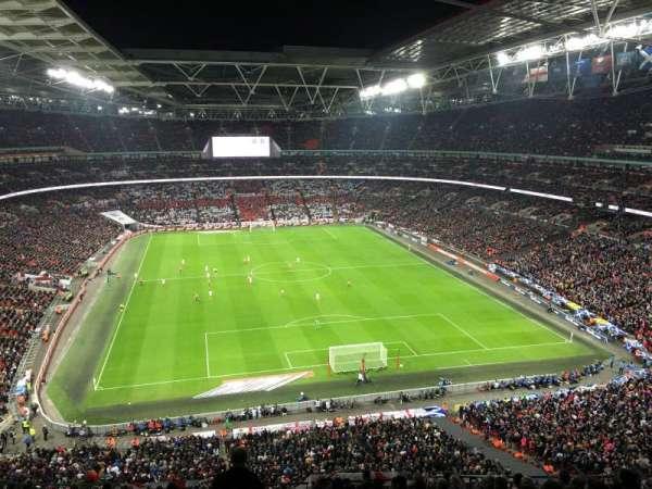 Wembley Stadium, secção: 541, fila: 4, lugar: 54