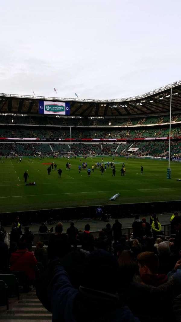 Twickenham Stadium, secção: L35, fila: 22, lugar: 238