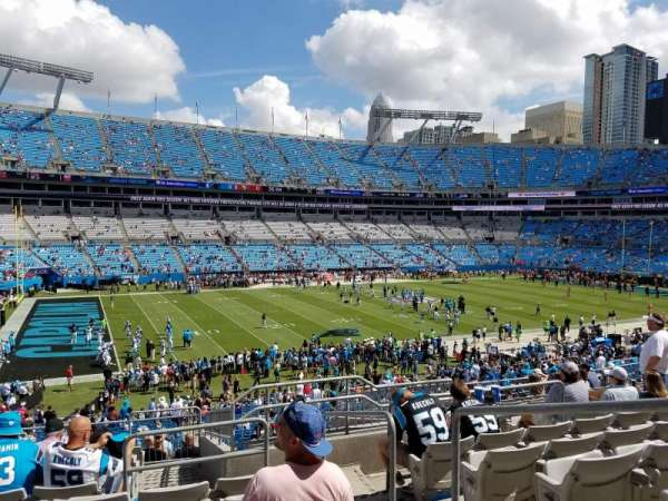 Bank of America Stadium, secção: 348, fila: 12, lugar: 2
