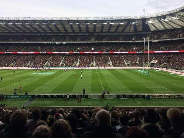 Twickenham Stadium, secção: L4, fila: 34, lugar: 200