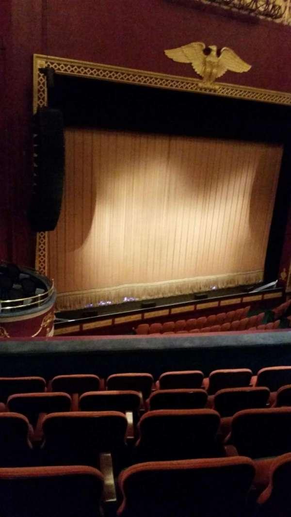 National Theatre (DC), secção: Mezzanine, fila: F, lugar: 25