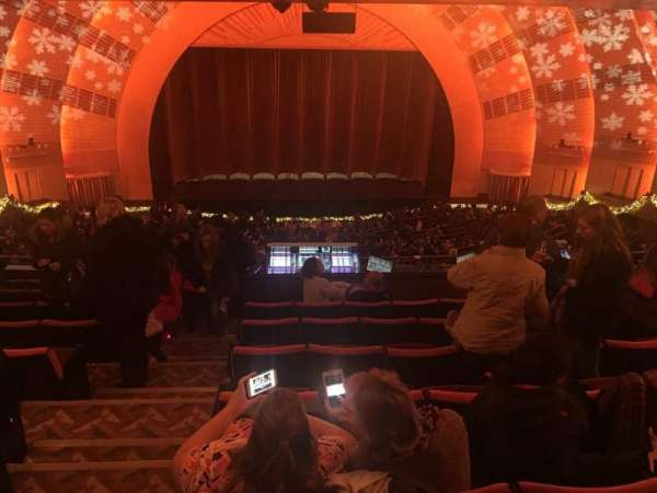 Radio City Music Hall, secção: 2nd Mezzanine 4, fila: J, lugar: 410