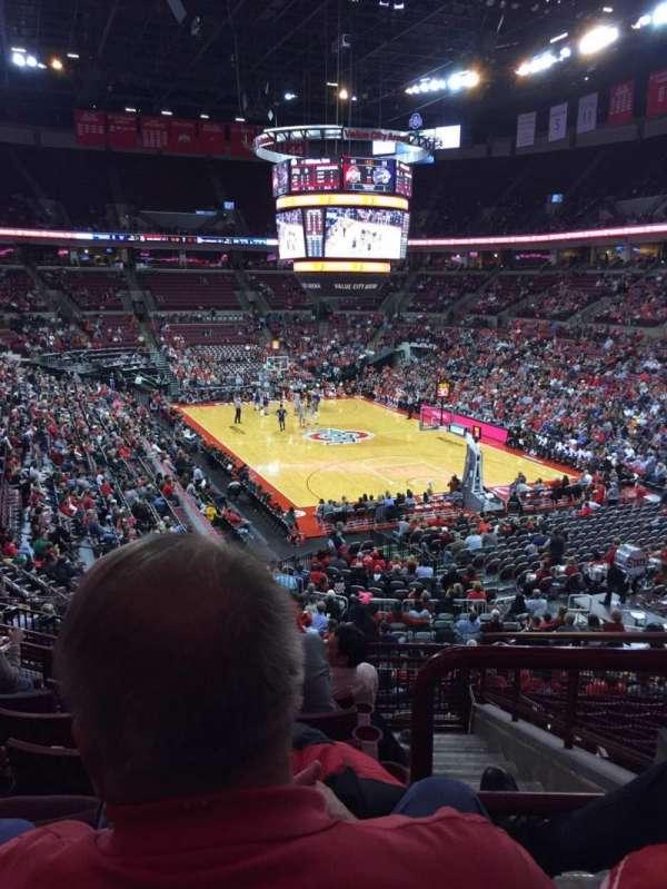 Value City Arena, secção: 217, fila: G, lugar: 3