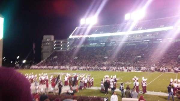 Davis Wade Stadium, secção: 18, fila: 11, lugar: 8