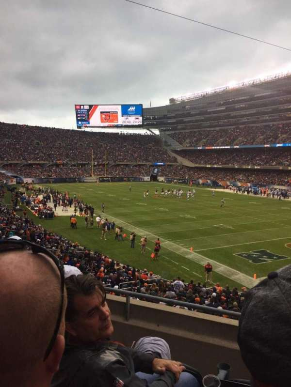 Soldier Field, secção: 228, fila: 3, lugar: 4