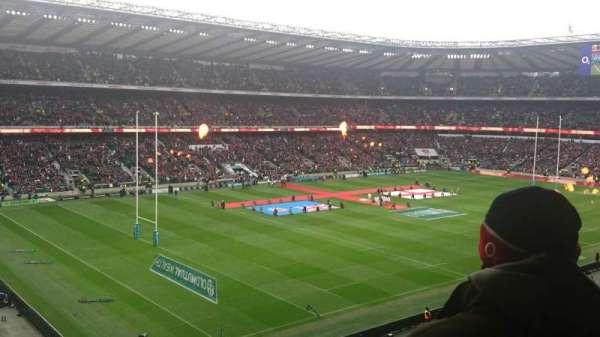 Twickenham Stadium, secção: M40, fila: 65, lugar: 15